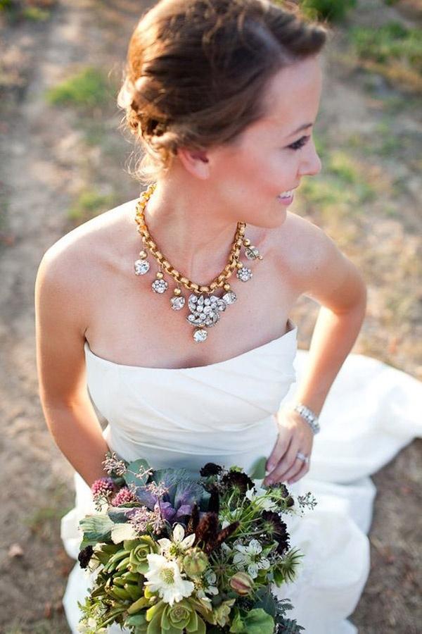 Bí quyết chọn trang sức cưới cho cô dâu trong mùa hè