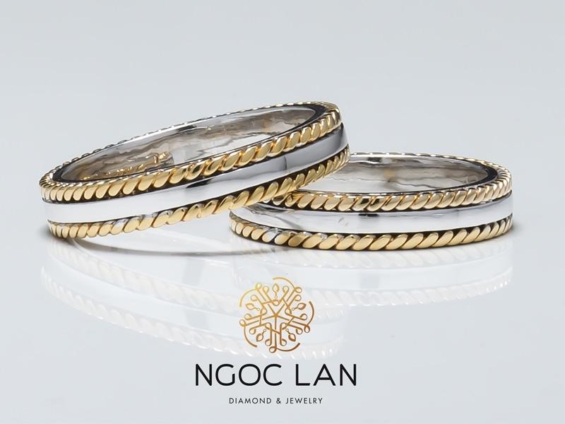 Nhẫn cưới Ngọc Lan – Lựa chọn hoàn hảo cho các cặp đôi.