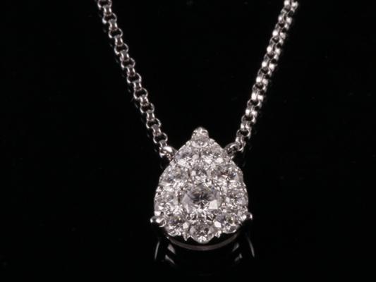 Dây chuyền Kim cương thiên nhiên DK 26