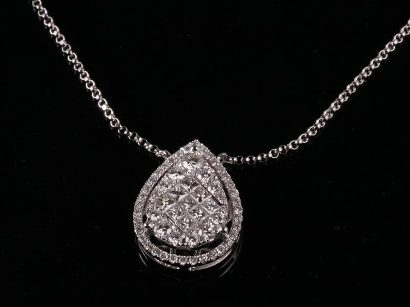 Dây chuyền Kim cương thiên nhiên DK 28 1