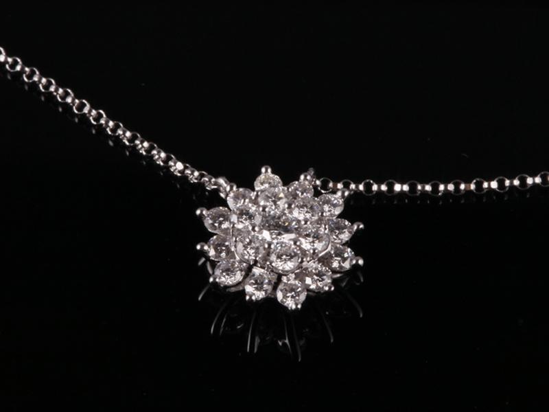Dây chuyền Kim cương thiên nhiên DK 33 1