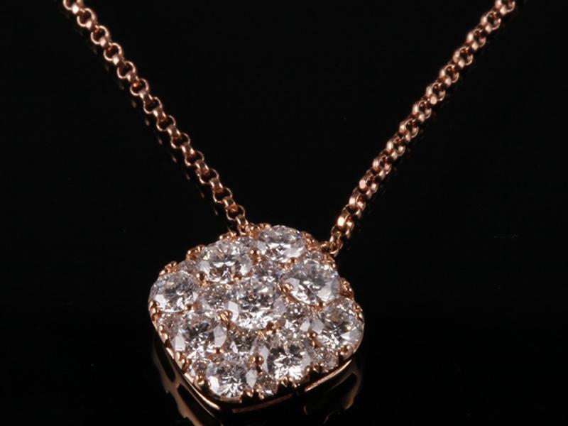 Dây chuyền Kim cương thiên nhiên DK 34 1