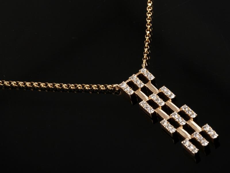 Dây chuyền Kim cương thiên nhiên DK 38 3