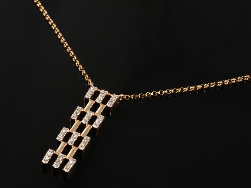 Dây chuyền Kim cương thiên nhiên DK 38 2