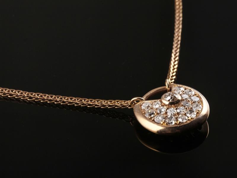 Dây chuyền Kim cương thiên nhiên DK 76 3