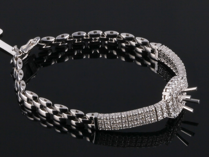 Lắc tay Kim cương thiên nhiên LK 58 3