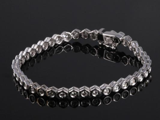 Lắc tay Kim cương thiên nhiên LK 65