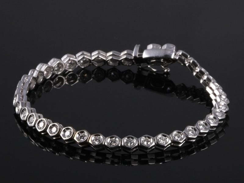 Lắc tay Kim cương thiên nhiên LK 65 2