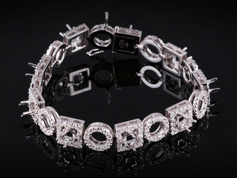 Lắc tay Kim cương thiên nhiên 1