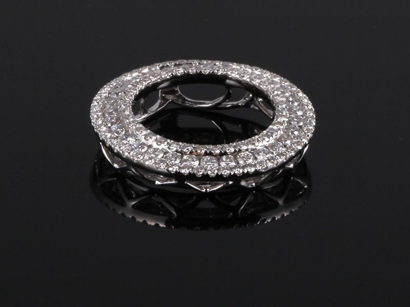 Mặt Dây kim cương thiên nhiên MK 388 1