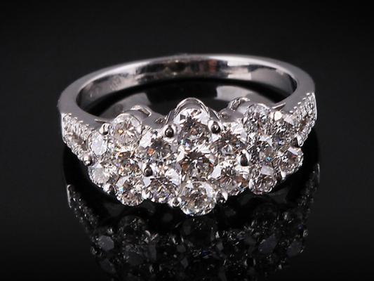 Nhẫn kim cương thiên nhiên NK 234