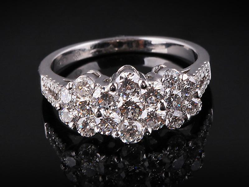 Nhẫn kim cương thiên nhiên NK 234 1
