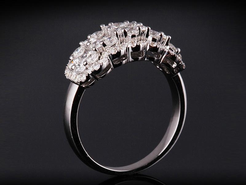 Nhẫn kim cương thiên nhiên NK 2569 1