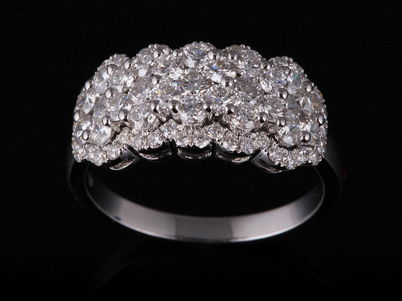 Nhẫn kim cương thiên nhiên NK 2569 2