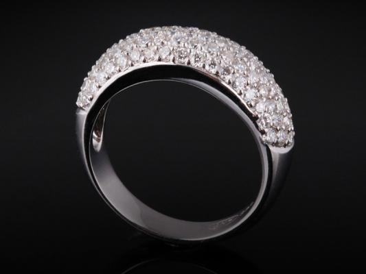 Nhẫn kim cương thiên nhiên NK 434