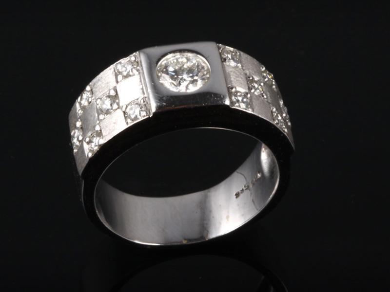 Nhẫn kim cương thiên nhiên NK 519 1