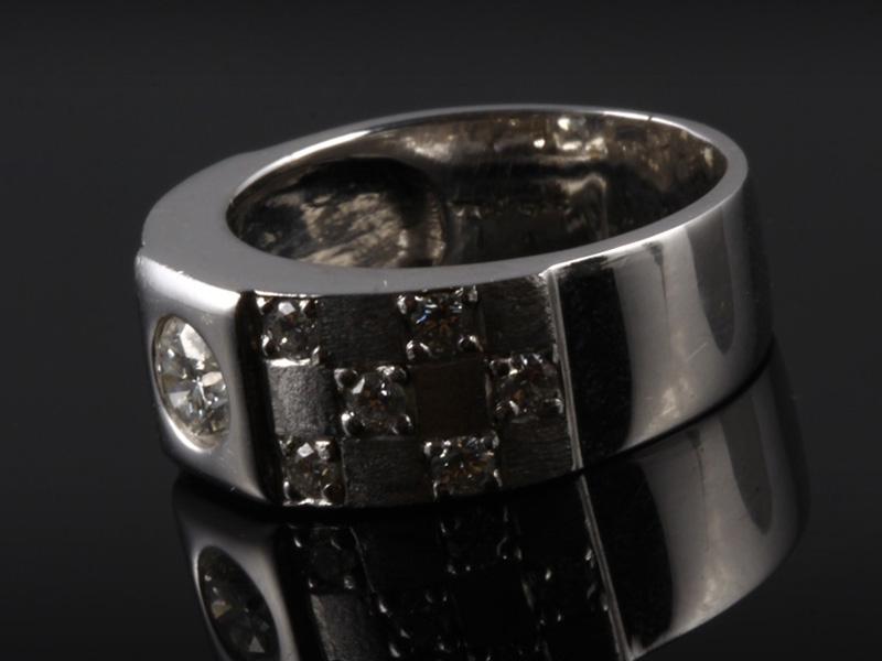 Nhẫn kim cương thiên nhiên NK 519 2
