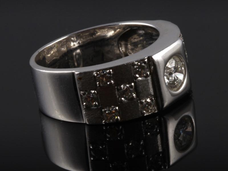 Nhẫn kim cương thiên nhiên NK 519 3