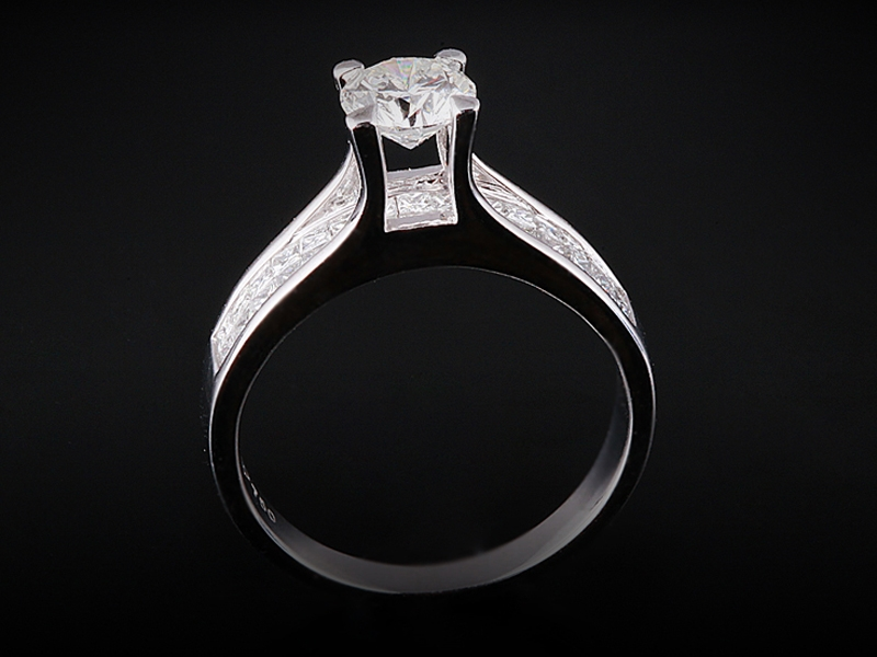 Nhẫn kim cương thiên nhiên NK 539 1