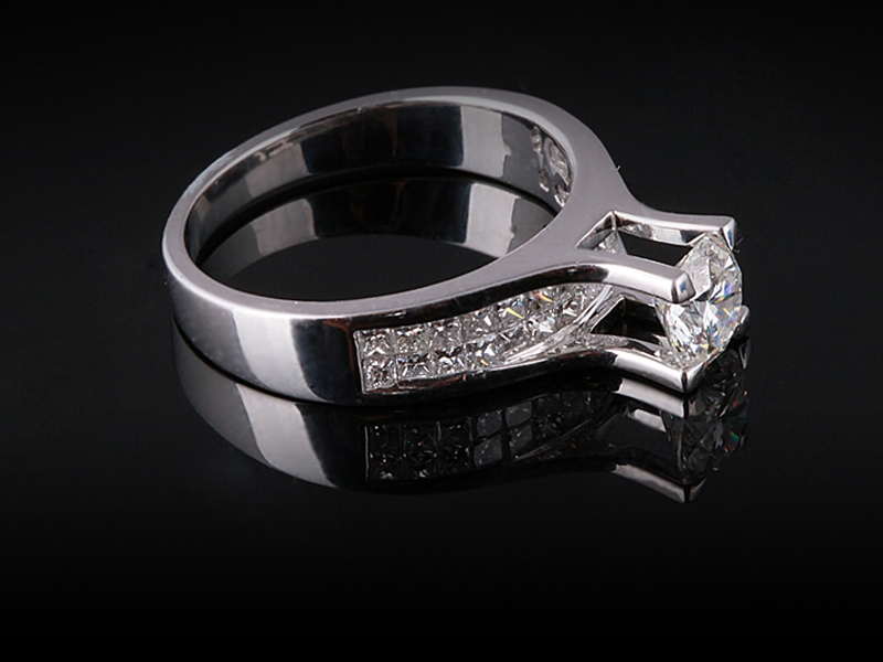 Nhẫn kim cương thiên nhiên NK 539 2