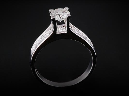 Nhẫn kim cương thiên nhiên NK 539
