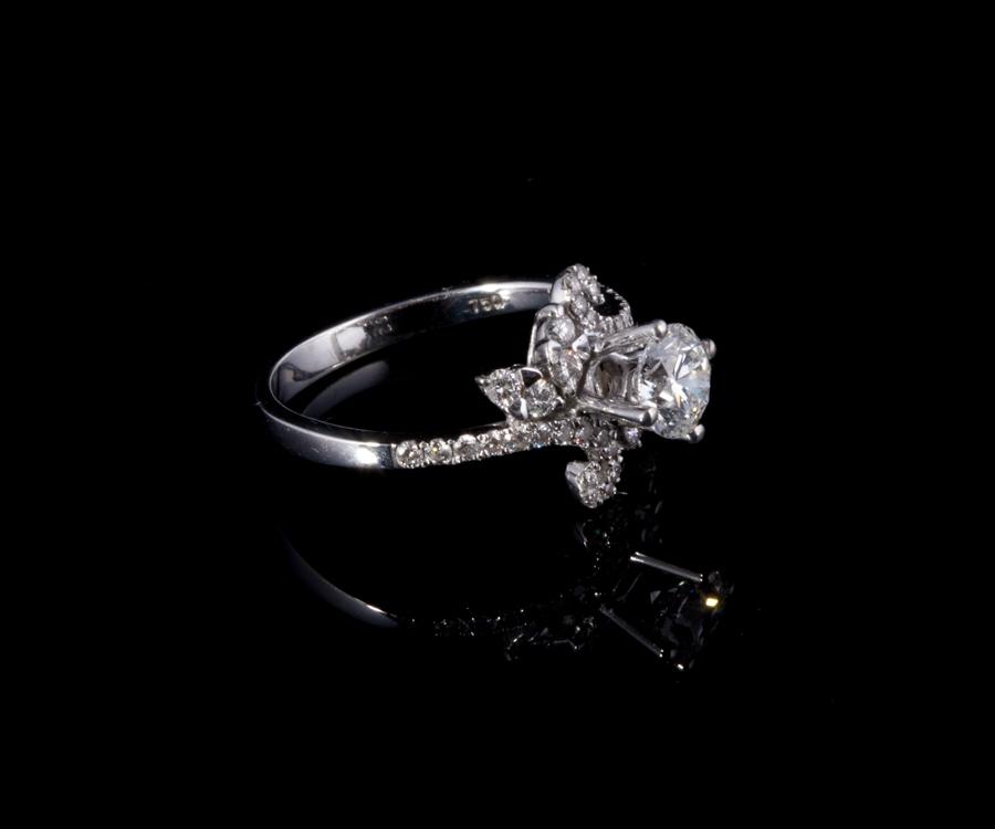 Nhẫn kim cương thiên nhiên NK 627 2