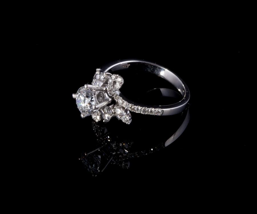 Nhẫn kim cương thiên nhiên NK 627 1