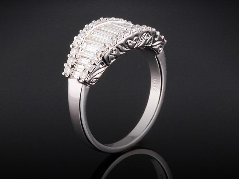 Nhẫn kim cương thiên nhiên NK 76 1