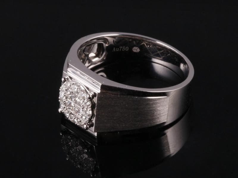 Nhẫn kim cương thiên nhiên NK 864 2