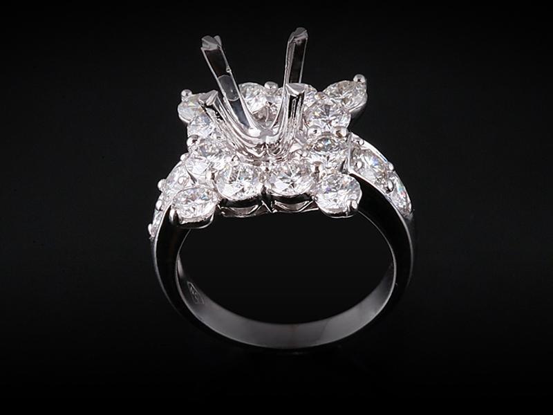Ổ Nhẫn Kim cương Nữ NK 2356 1