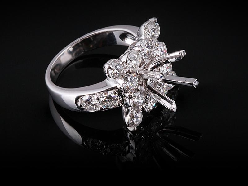 Ổ Nhẫn Kim cương Nữ NK 2356 2