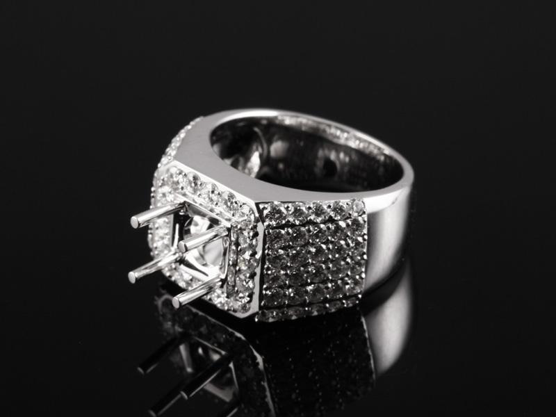 Ổ Nhẫn kim cương thiên nhiên NK 1086 2