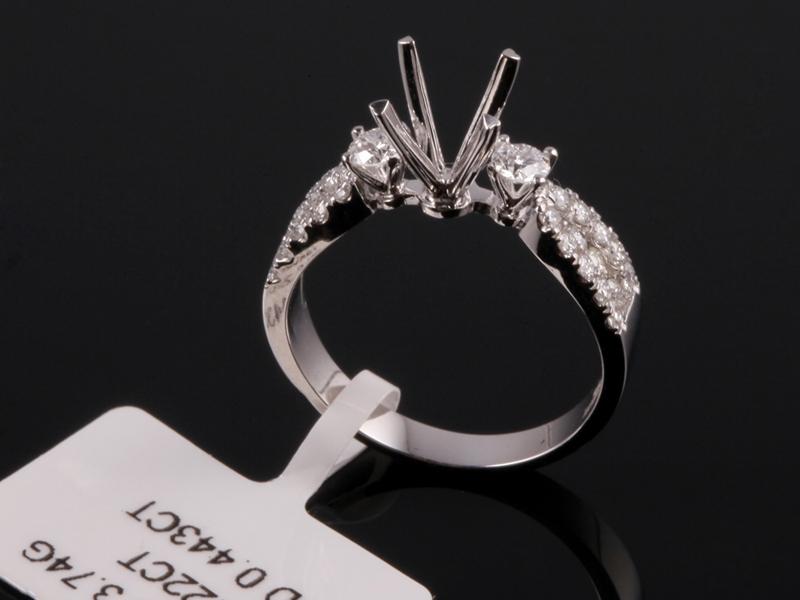 Ổ nhẫn kim cương thiên nhiên NK 1103 1