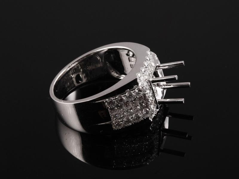 Ổ Nhẫn kim cương thiên nhiên NK 1213 3