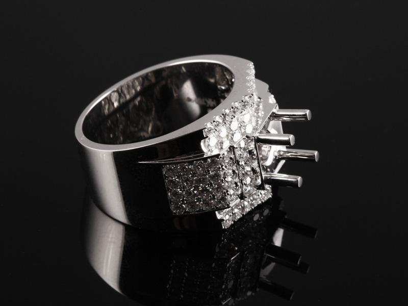 Ổ Nhẫn kim cương thiên nhiên NK 1230 1