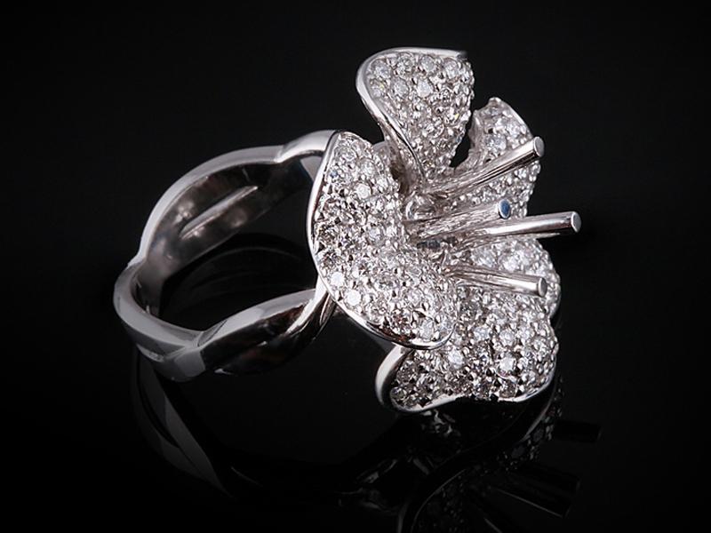 Ổ nhẫn kim cương thiên nhiên NK 238 2