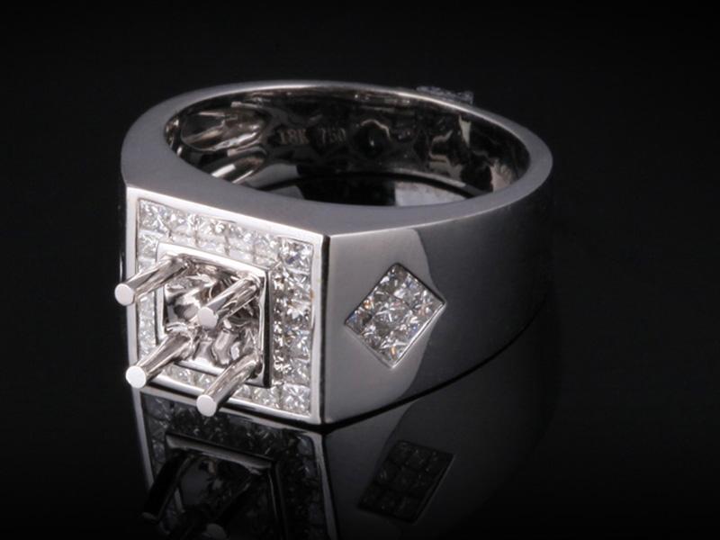 Ổ Nhẫn kim cương thiên nhiên NK 397 2