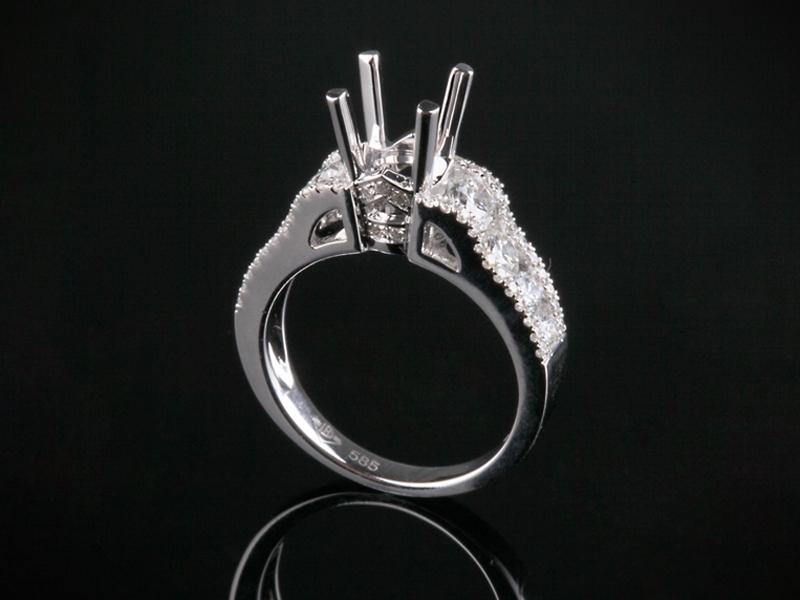 Ổ nhẫn kim cương thiên nhiên NK 561 2