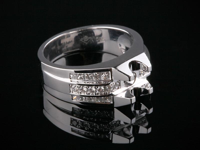 Ổ Nhẫn kim cương thiên nhiên NK 565 2