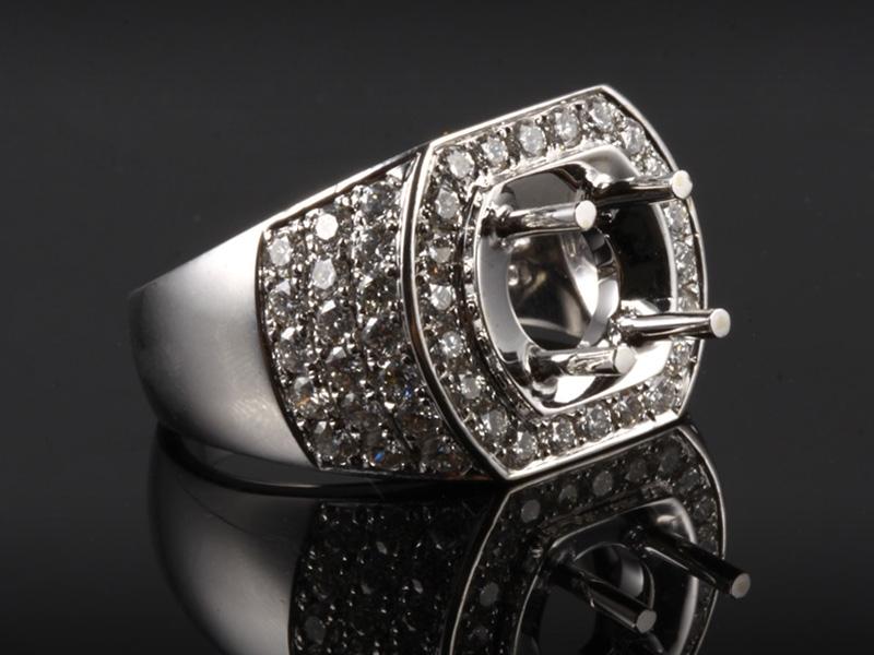 Ổ Nhẫn kim cương thiên nhiên NK 670 3