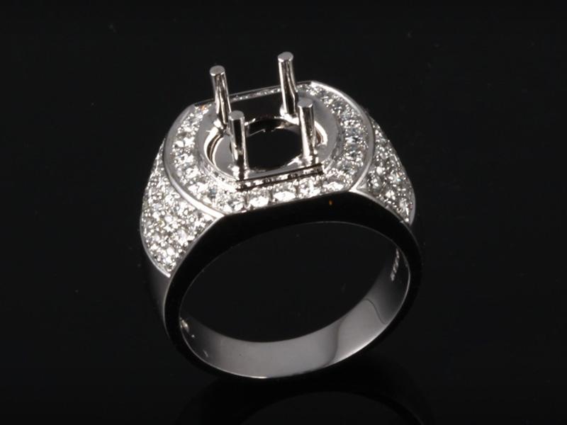 Ổ Nhẫn kim cương thiên nhiên NK 670 1