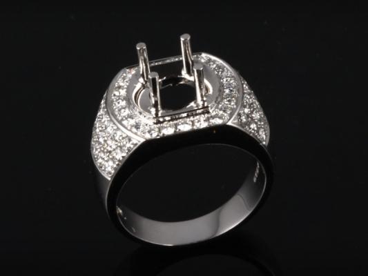 Ổ Nhẫn kim cương thiên nhiên NK 670