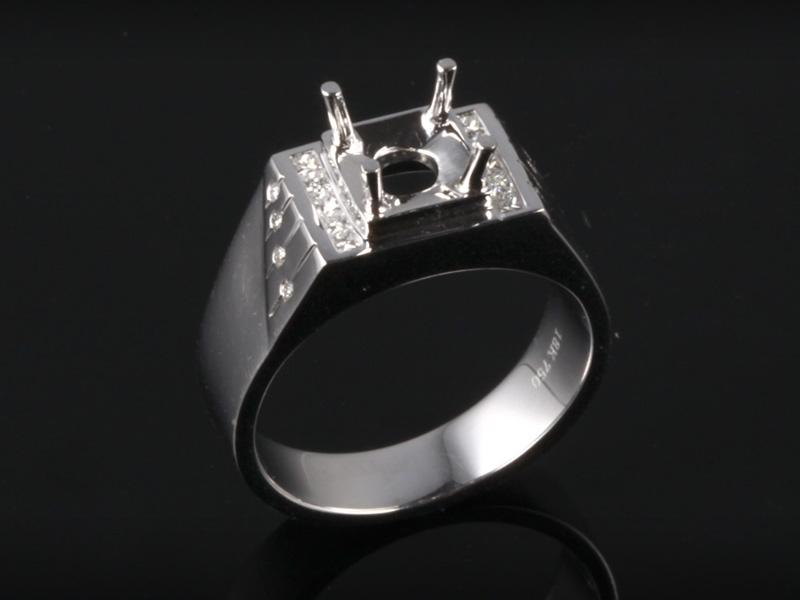 Ổ Nhẫn kim cương thiên nhiên NK 616 1