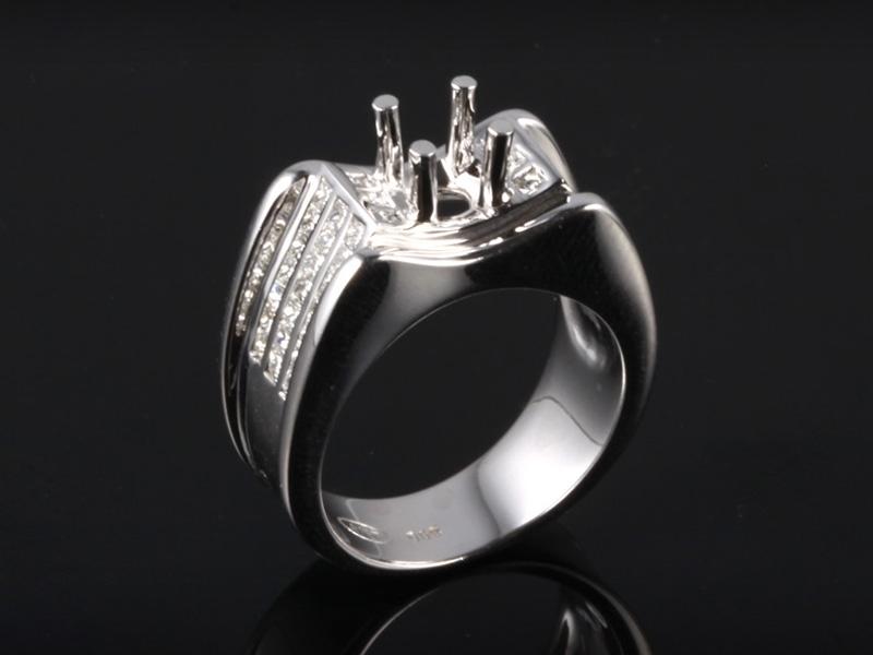 Ổ Nhẫn kim cương thiên nhiên NK 679 1