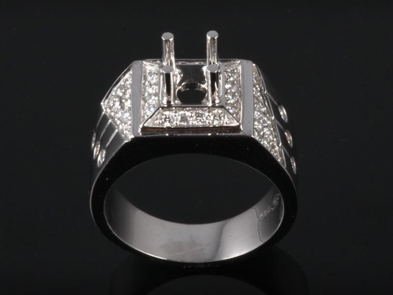 Ổ Nhẫn kim cương thiên nhiên NK 686 1