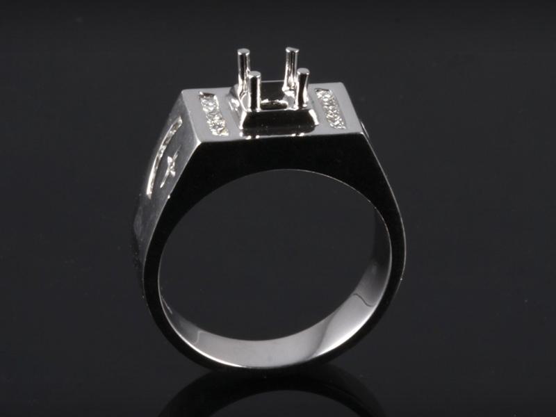 Ổ Nhẫn kim cương thiên nhiên NK 6862 1