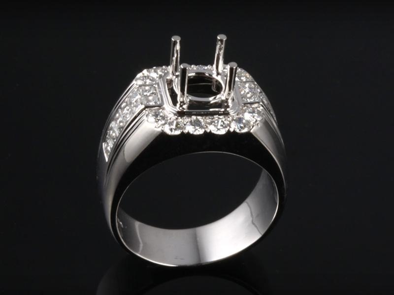 Ổ Nhẫn kim cương thiên nhiên NK 773 1