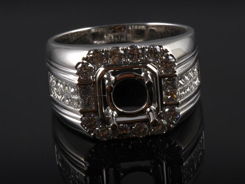 Ổ Nhẫn kim cương thiên nhiên NK 773 2