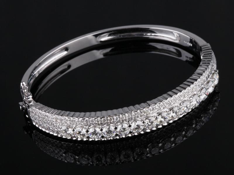 Vòng tay Kim cương thiên nhiên V 461 2