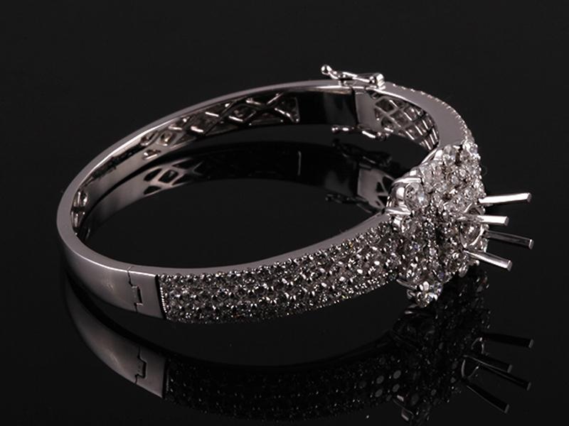 Vòng tay Kim cương thiên nhiên V79 2
